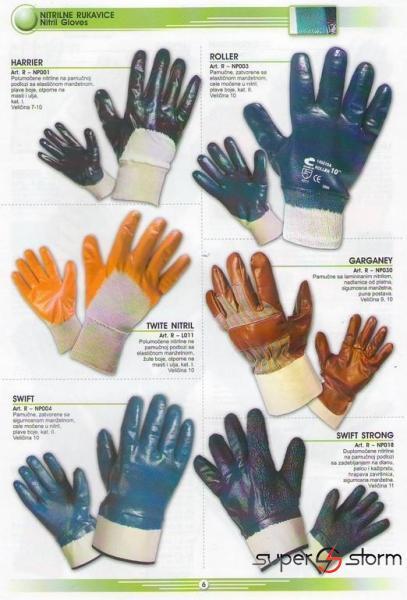 HTZ oprema - HTZ - Zaštitne rukavice - strec folije