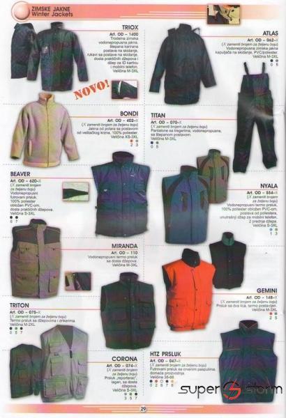 HTZ oprema - HTZ - Zaštitna odeća - strec folije