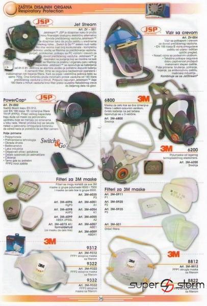 HTZ oprema - HTZ - Zaštitne maske - strec folije