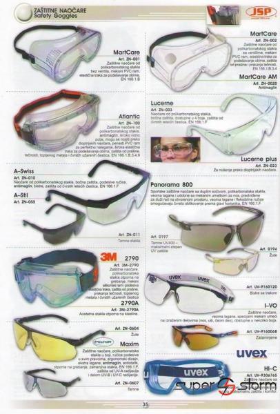 HTZ oprema - HTZ - Zaštitne naočare - strec folija