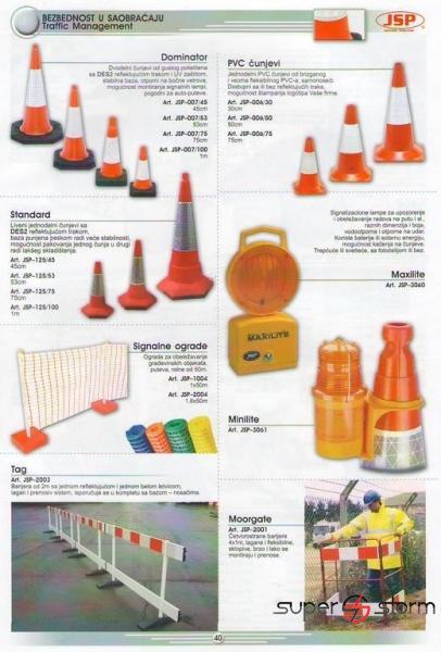HTZ oprema - HTZ - Bezbednost u saobraćaju - strec folija