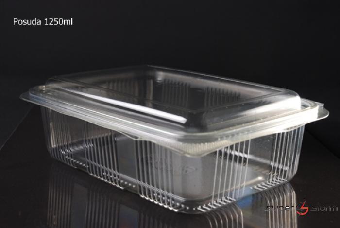 Pakovanje hrane - PET posude - strec folije