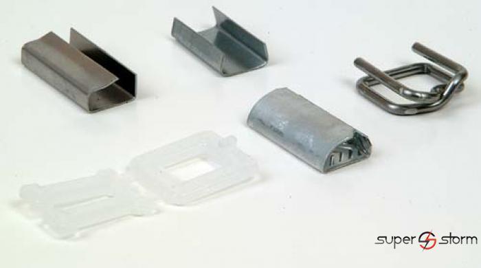 Mašine i alati za pakovanje - Metalne spojnice - strec folija