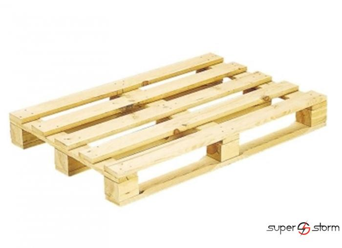 Drvene palete - Jednokratne palete - strec folija